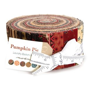 42280JR Moda Jellyroll Pumpkin Pie