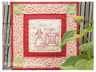 N12076  Quiltpatroon Quilt Angel EQP