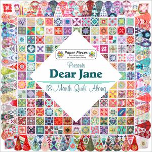 Compleet pakket Paper Pieces Dear Jane Quilt