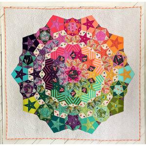 Tulanova by Tula Pink patroon en papiermalletjes