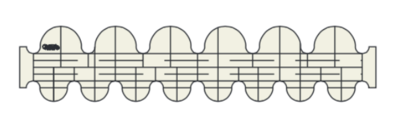 """CC1, Round Clamshells, 1.5"""" x .75"""" and 1"""" x 2"""" (low shank)"""