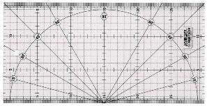 Olfa Liniaal MQR 15x30 cm