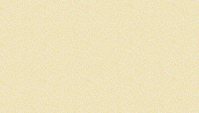 764/Q4 Makower creme met lichtbeige blaadjes print