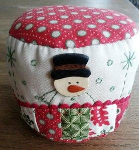 Speldenkussen pakket Snowman