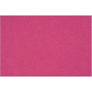 Vilt 20x30 cm helder fuchsia roze