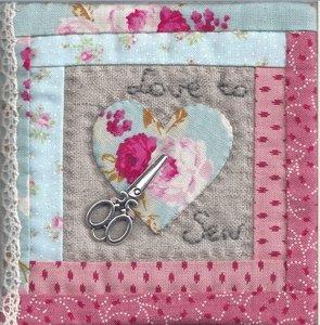 Naaldenboekje Love to Sew