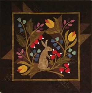 KIT1814 By a Hare (Spring /Lente Quiltpakket) van Bonnie Sullivan