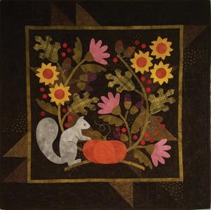 KIT1816 Squirrel it away (Autumn/ herfst Quiltpakket) van Bonnie Sullivan