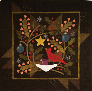 KIT1817 Cardinal Rule (Winter Quiltpakket) van Bonnie Sullivan