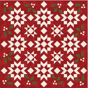 KIT1820 Winterberries Quiltpakket van Bonnie Sullivan