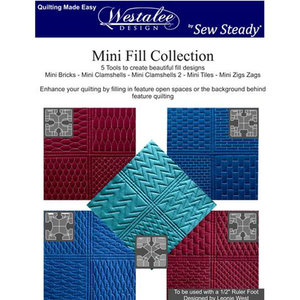 WMFC-H, Mini Fill Collection HighShank, 5 templates, Westalee