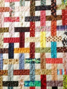 Patroon Schering en Inslag Quilt