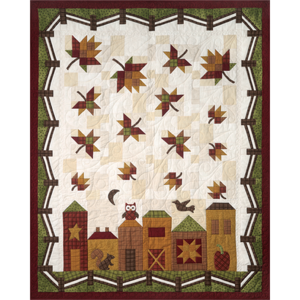 THQHH100, Pattern Hometown Harvest (english) by the Quiltcompany