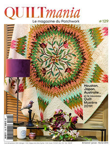 Quiltmania nr.129 jan-feb 2019