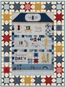 Quiltpakket Hand Made House Quilt