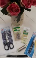 Applicatie set Basis met Prym professional needlecraft scissors schaar