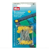 028520 prym Quilters Flat Flower pins